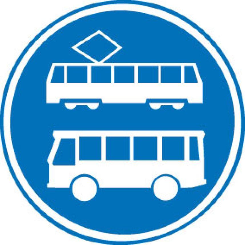 Nieuw verkeersbord bus  trambaan   blog